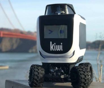 Descubre quién es Kiwibot, el robot repartidor de comida a domicilio