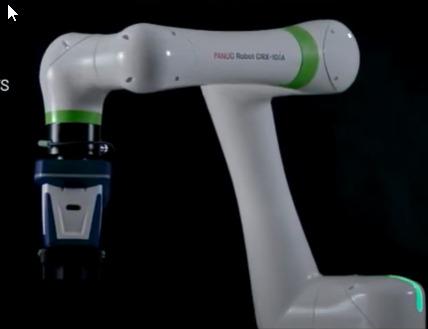 La empresa Fanuc presenta su nueva serie de robots colaborativos CRX